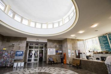 Zdjęcie przedstawia hol główny rejestracja